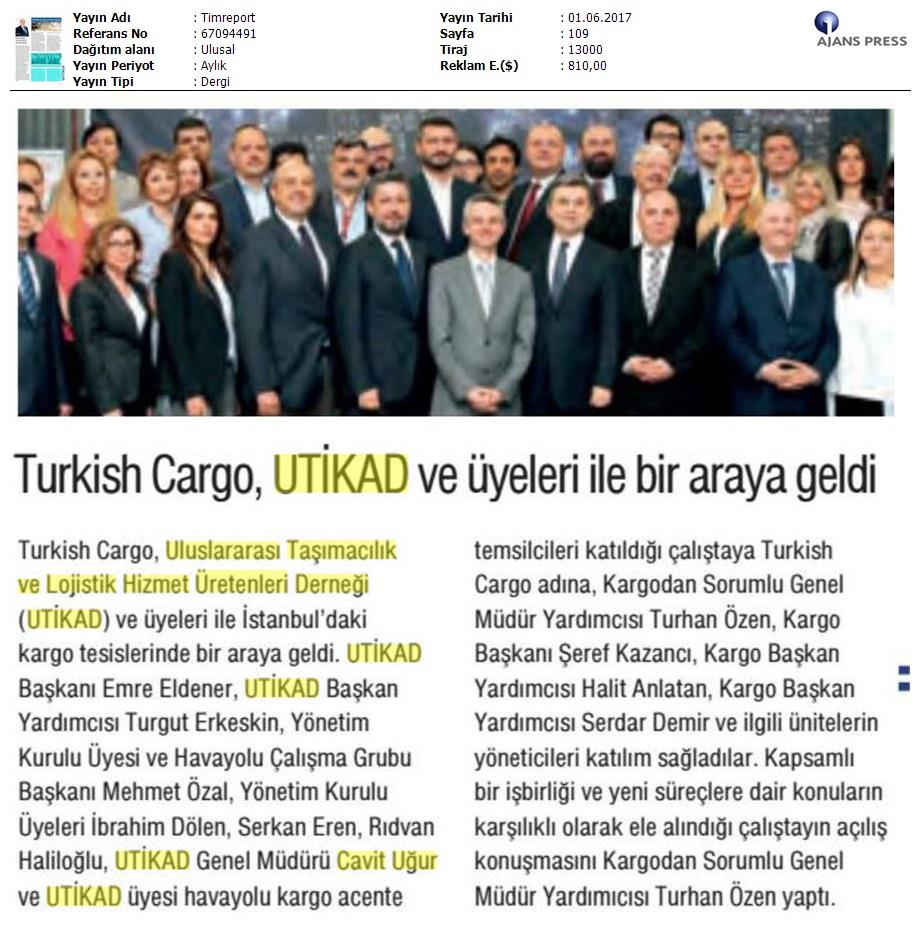 Timreport - Turkish Cargo>