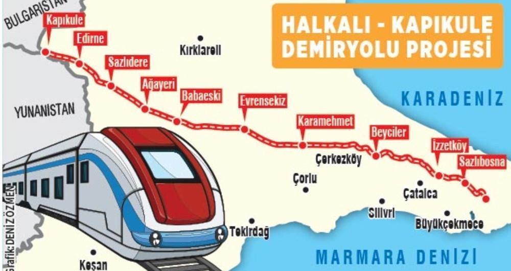 Avrupa ile yüksek standartlı demiryolu bağlantısı projesi ile ilgili görsel sonucu